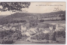 Doubs - Glay - Les églises Et Centre Du Village - France