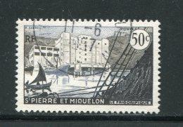 ST PIERRE ET MIQUELON- Y&T N°349- Oblitéré - St.Pierre & Miquelon
