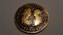 Jeton Laiton Mariage LOUIS XIV Et MARIE THERESE 1667 - 987-1789 Monnaies Royales