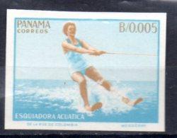 PANAMA    N ° 400  * *  NON DENTELE   Ski Nautique