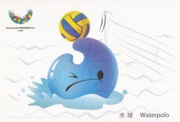Waterpolo - UU, Mascot Of The 26th Summer Universiade 2011, Shenzhen Of China, Prepaid Card