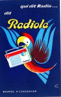 BU 1433 /   BUVARD -  RADIO DIT RADIOLA - Buvards, Protège-cahiers Illustrés