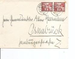 Allemagne ( Lettre De 1937 De Kassel Vers Osnabruck à Voir) - Germany