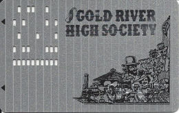 Gold River Casino Laughlin NV 7th Issue Slot Card - Casino Cards