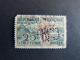FRANCE C N° 961 1953 C.N. 304 Perforé Perforés Perfins Perfin  Superbe !! - France