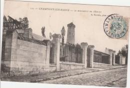 CHAMPIGNY  Monument De 1870-71 - Champigny Sur Marne