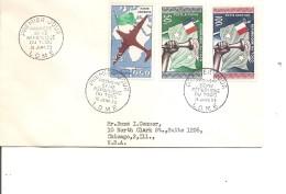 Togo ( FDC De 1960 Voyagé Vers Les USA   à Voir) - Togo (1960-...)