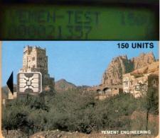 Yemen -   Yement Engineering, SC-4, Palace At Wadi Dahr, 150 Units, Used