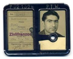 Ausweis Civil Français En Allemagne 1944 - Documents