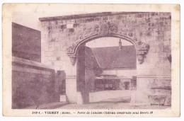 VIERZY  02  Porte De L'ancien Chateau . - France