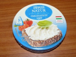 Cheese Queso Kase Label Etikette Etiqueta Hungary Tesco Nature BOX - Quesos