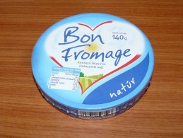 Cheese Queso Kase Label Etikette Etiqueta Hungary Bon Fromage Nature BOX - Quesos