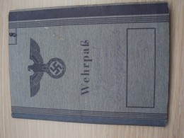Wehrpass Nr  9 : German Soldier No Special Entry´s - Documentos