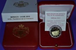 2015 MONACO BE 2 EURO FONDATION DE LA FORTERESSE 10 000 PIECES - Monaco