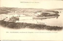 22220 PLOUGUIEL TREGUIER - LE PONT ST FRANCOIS Et LE PONT NOIR Vers 1900 - Tréguier