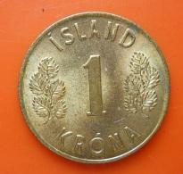 Iceland 1 Krona 1975 - Iceland
