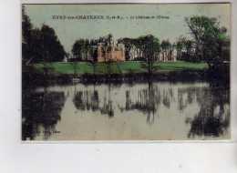 EVRY LES CHATEAUX - Le Château Et L'Etang - Très Bon état - Other Municipalities