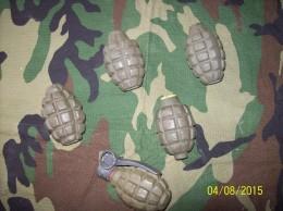 Lot De  GRENADE  NEUTRALISEE MK1 / MK2 / F1 - Armes Neutralisées