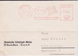 Bund Freistempel Putzmittel Kte Bonn Beuel 1954 - [7] West-Duitsland