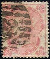 GREAT BRITAIN     37, Used, Soumd, SCV$300..... (gb037-5,    S.G. 77,  Pale Rose....[16-CRT - 1840-1901 (Victoria)