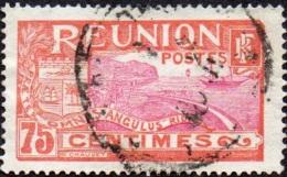 Réunion Obl. N°  68 - Vue -> Rade De Saint Denis - 75 C Rouge Et Rose-lilas - Réunion (1852-1975)
