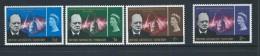 British Antarctic Territory 1966 Churchill Memorial Set 4 MLH - Unclassified