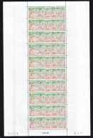 1991  Tennis - Tournoi Du Centenaire De Roland Garros   Feuille De 10  Yv PA 171  ** MNH - Wallis Y Futuna