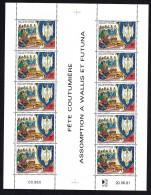 1991  Fête De L'Assomption - Feuille De 10 - Yv 413  **  MNH - Wallis Y Futuna