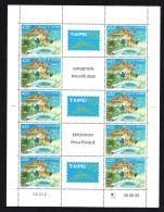1993  Taipei'93  Exposition Philatélique  Feuille De 5 Triptyques  Yv 454 ** MNH - Wallis Y Futuna