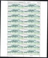 1993  Chinon, Indre Et Loire    Yv 2817 Feuille Complète De 20 Ex.  Jamais Pliée  ** - Feuilles Complètes
