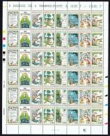 1995  Fables De Jean De La Fontaine   Yv 2958-63  Feuille Complète De 6 Bandes De 6 Jamais Pliée  ** - Feuilles Complètes