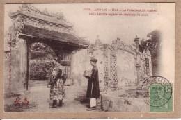 INDOCHINE - ANNAM - HUE - 1005 - LE PRESIDENT DU CONSEIL DE LA FAMILLE ROYALE ..... - éditeur Dieulefils - Viêt-Nam