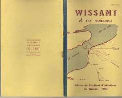 WISSANT ET SES ENVIRONS 1958  - 62 PAS DE CALAIS - NOMBREUSES PUBLICITES SUR LA REGION, HISTOIRE, GEOGRAPHIE - A VOIR - Picardie - Nord-Pas-de-Calais