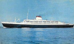 """Italia - Societa Di Navigazione, Genova - T/n """"Cristoforo Colombo"""" - Steamers"""
