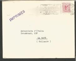 BEL8---  STORIA POSTALE, BELGIO--BELGIQUE,, BANCA D'ITALIA,BRUXELLES---LA HAYE, HOLLANDE, - Documenti Della Posta