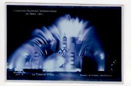 CP 9*14-AF1229-EXPOSITION COLONIALE INTERNATIONALE DE PARIS 1931 THEATRE D EAU - Expositions
