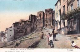 Spain - Malaga - Camino Del Castillo De Gibralfaro - Málaga