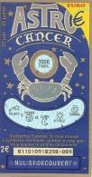 Astro 81101 Cancer - Billets De Loterie
