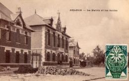 59 NORD - ARLEUX La Mairie Et Les écoles - Arleux