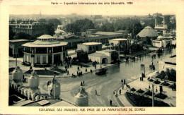 PARIS - Exposition Internationale Des Arts Décoratifs 1925 - L'Esplanade Des Invalides Prise De La Manufactue De Sèvres - Expositions