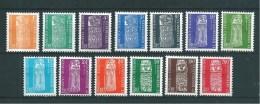 Nouvelles Calédonie   Timbres De Services  De 1959 N°1 A 13  Neufs * Petite Charnière - Service