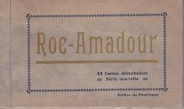 16 / 6 / 325-  CARNET  DE  24  CPA  DE  ROC-AMADOUR  ( 46 ) - Cartes Postales