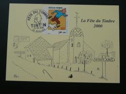 Carte Maximum Card Journée Fête Du Timbre 2000 Roulans Doubs - Journée Du Timbre