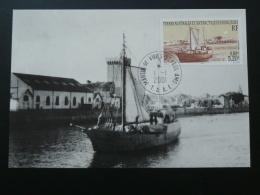 Carte Maximum Card Bateau De Pêche Fishing Ship TAAF 2001 - Schiffe