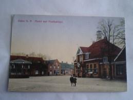 Asten (N-Br.) Markt Met Postkantoor 19?? Uitg. J.P.Schriks TOPKAART - Autres