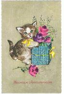 CHATON ET LE POT DE FLEURS - Katten