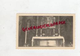 23 - ANZEME - PHOTOGRAPHIE ORIGINALE AUTEL DE L´ EGLISE  1957 - Photographs