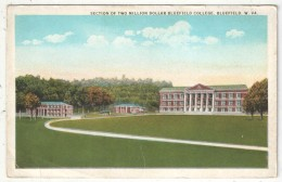 Section Of Two Million Dollar Bluefield College, Bluefield, W. VA. - 1929 - Etats-Unis