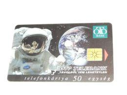 Astronaut Computer Telefonkarte Phonecard Hungary - Sin Clasificación
