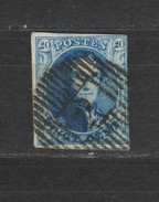 COB 7 Oblitéré - 1851-1857 Medallones (6/8)